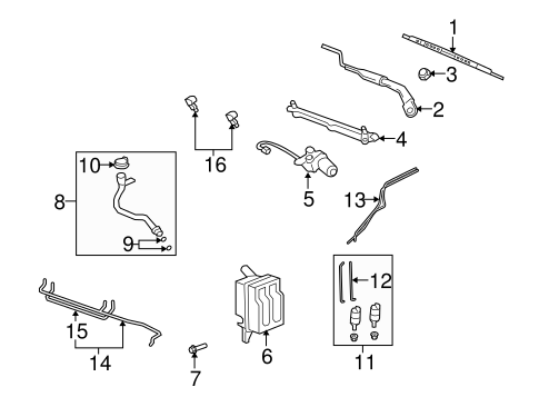 2008 saturn vue wiper motor arm 2008 wiring diagram free