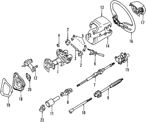 2005 Ta a Steering Diagram furthermore Zz4 furthermore Jeep Cj5 Brake Diagrams in addition Steering Wheel Scat in addition 4528052020. on toyota oem parts diagram steering column