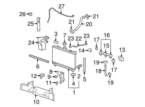 2010 camaro engine cooling system diagram car engine cooling system diagram radiator & components 2010 chevrolet camaro oem – new gm parts #7