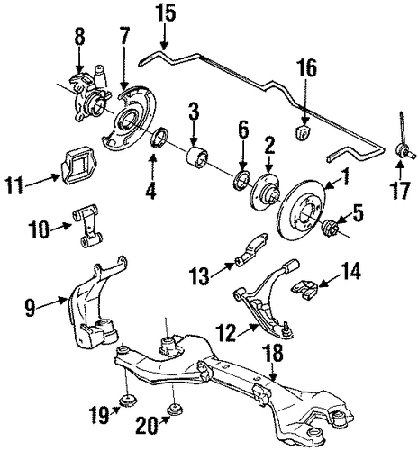E36 Door Wiring Diagram additionally 07119900223 Sruba Szesciokatna as well E38 Bmw Suspension Diagram besides 1999 Maxima Wiring Diagram as well Bmw Air Pump Vacuum Hose 540i 740i 740il X5 11731438139. on 1998 bmw 740i front suspension diagram