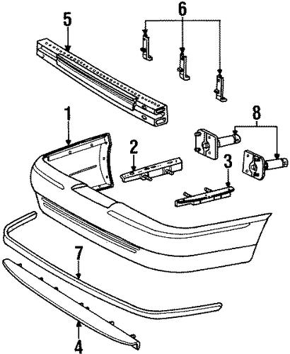 ford escape interior part diagram