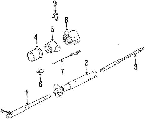wiring diagram for ididit steering column with Flaming River Steering Column Wiring Diagram on Steering Column Wiring Diagram Jeepforum besides 57 Chevy Steering Column Wiring Diagram further Classic Thunderbird Club Chicagoland Tech Tip Telescoping Steering Column 1955 also Ford F 350 1993 Ford F350 Brake Lightsturn Signals also 1955 Chevy Ignition Switch Wiring Diagram.
