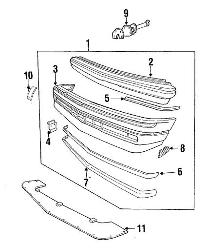 cadillac allante parts catalog