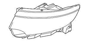 2011-2014 Ford Edge Headlamp Housing BT4Z-13008-J