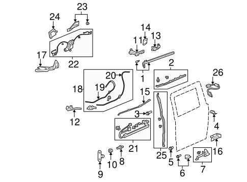 Fuse Box Diagram 2001 Honda Odyssey Door S