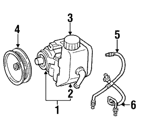 Jeep 3 7 Engine Diagram Power Steering