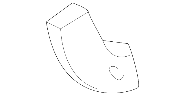 BUMPER BRACKET - GM (12472151)