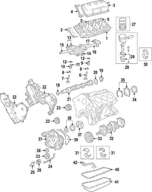 Victor Gaskets Gs33303 Engine Timing Cover Dust Seal Set besides Chrysler Nozzle Windshield Washer 4894275ad together with Discussion T12554 ds557763 likewise 04861622AB additionally Rear Suspension Toe Link. on chrysler pacifica fwd