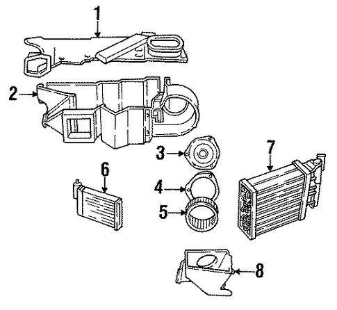2000 Buick Lesabre Serpentine Belt Diagram besides Camaro Vats Module Location furthermore Buick 3 1 Engine Diagram additionally 2000 Dodge Dakota Heater Core in addition 2yamt Route Serpentine Belt 92 Buick Century. on 92 buick lesabre parts