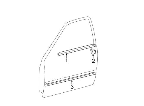 Exterior Trim Front Door Scat together with Exterior Trim Rear Door Scat additionally Front Door Scat besides Front seat belt 814 in addition  on red toyota camry 4 door