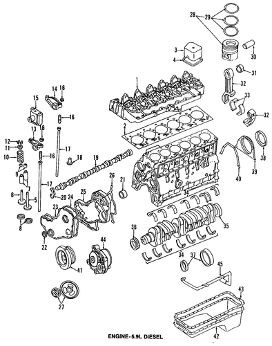 Engine For 1998 Dodge Ram 3500 Parts