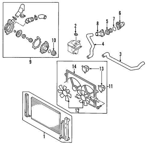 Mazda Mpv Cooling Diagram