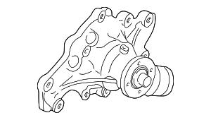 1990-2003 Ford Ranger Water Pump Assy F7TZ-8501-AC