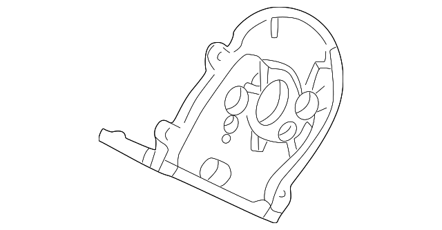 1998 Honda ACCORD COUPE EX (V6) GASKET, FR. TIMING BELT BACK COVER PLATE - (11862P8AA00)