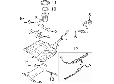 Isuzu Vehicross Fuse Diagram