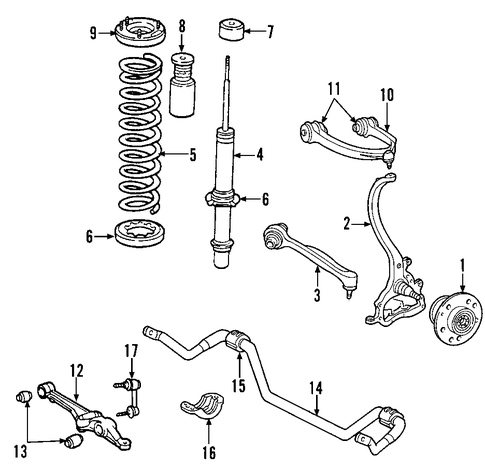 TENSION STRUT - 2007 Chrysler 300 (5180607AB) | WeRMopar