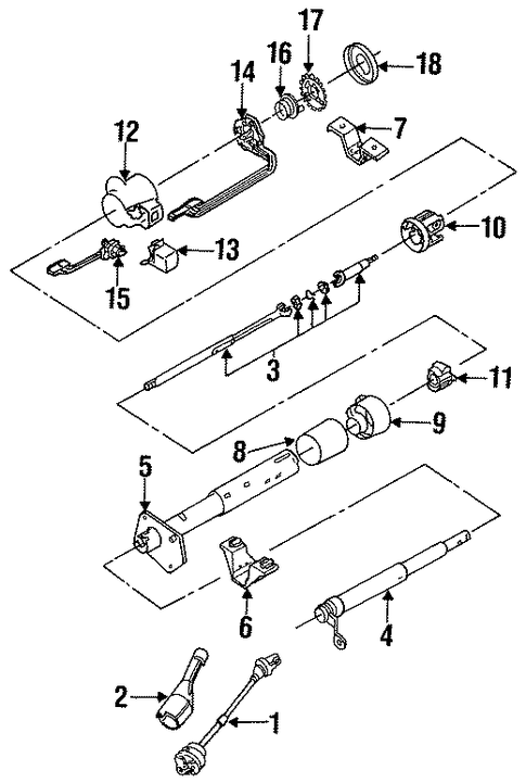35 1994 Chevy Silverado Steering Column Diagram