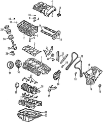 Head Gasket For Ford Ranger 4 0 Engine Diagram as well Evolution 7 8 9 Oem Mitsubishi Parts Engine furthermore Dodge Durango Engine Codes together with 231027 2 3 Liter Duratec Timing 2 as well Gasket. on 2006 ford focus oil pan