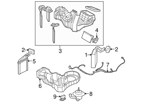 Evaporator And Heater Components Scat