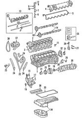 2003-2014 Mercedes-Benz CL600 Oil Pump 137-180-08-01