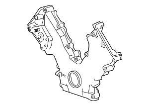 2006-2011 Ford Crown Victoria Timing Cover 6W7Z-6019-AA