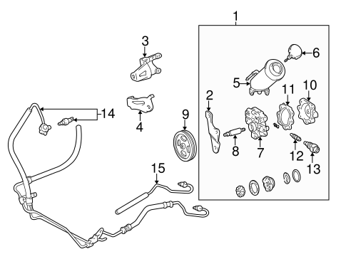 Toyota Tacoma 3 4l V6 Engine Parts Diagram