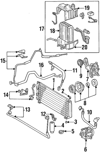 2009 toyota corolla suspension parts diagram  2009  free
