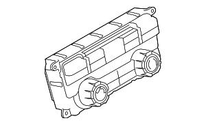 2009 Ford F-150 Heater Control 9L3Z-19980-T