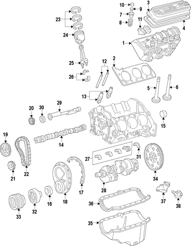 2004 cadillac cts 3 2l engine diagram