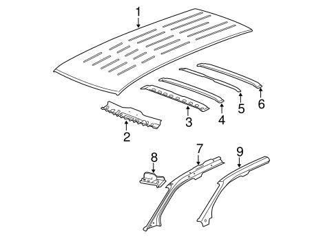 2003 Chevy Cavalier Rear Bumper Parts Diagram. 2003. Find Image ...