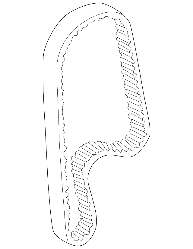TIMING BELT - Honda (14400-PAA-A02)