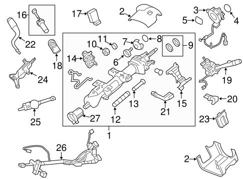 Ford Steering Column Lock Actuator