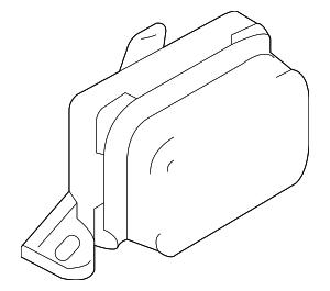 2008-2011 Ford Escape Yaw Sensor 8L8Z-3C187-A