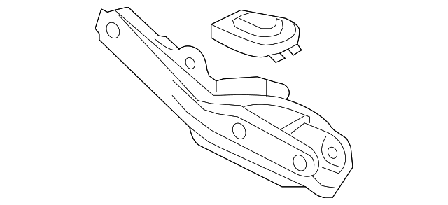 ARM B, R. RR. (LOWER) - 2010 Honda RIDGELINE (52350SJCA01)