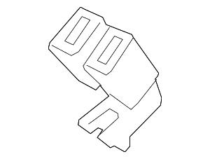 2013-2015 Ford Fusion Buckle End DG9Z-5460044-BA