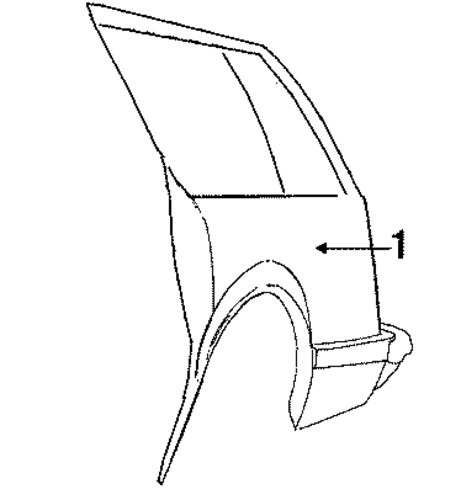 quarter panel  u0026 components for 1991 buick century  limited