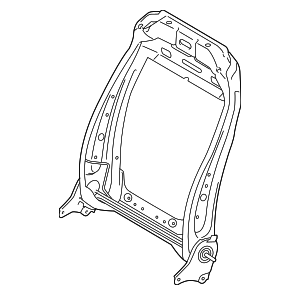 2015 Ford F-150 Seat Back Frame FU5Z-9661018-D