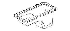 2007 Ford Mustang Oil Pan 5R3Z-6675-DB