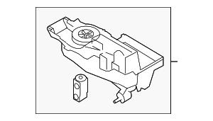 2009 Ford Flex Evaporator Assy AG1Z-19850-B