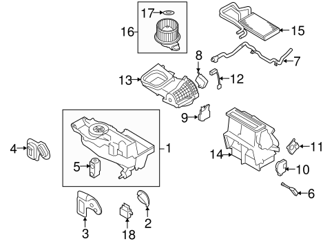 Xterra Distributor Installation likewise Emission  ponents Scat besides 2011 Lincoln Mkz Fuse Panel Diagram also Evaporator And Heater  ponents Scat further 2007 2015 Ford Expedition Front Bracket 9l7z 16a507 B d2a972be8c486fd615569f49e68d9313. on 2015 lincoln mkt
