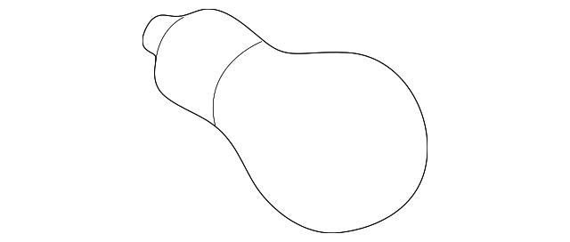 Bulb Genuine Toyota 90981 13043
