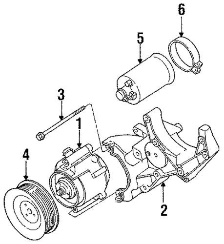 1997 Dodge Ram 1500 Engine: EMISSION COMPONENTS For 1997 Dodge Ram 1500 Parts