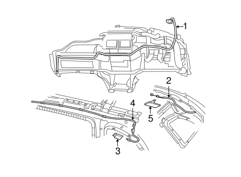 Antenna And Radio Scat as well T10637637 Cranksensor 2007 dodge caliber location together with T16419675 Replace rear speed sensor chrysler likewise 05 Chrysler Pacifica Engine Diagram as well Mopar Cable Antenna 4869180aa. on chrysler pacifica ad