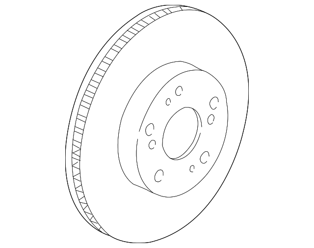 Genuine Honda Part No. 45251-S7A-N10 - ROTOR