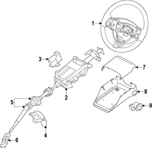 2008 Jaguar Xk Tilt Steering Lever Repair