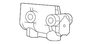 2007 2008 Chrysler Sebring Master Cylinder 68004708AD