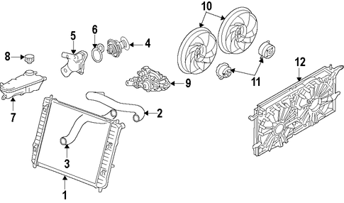 2002 Saturn Vue Engine Wiring Diagram also Belts And Pulleys Scat further Water Pump Scat moreover 1999 Toyota Corolla L4 1 8l Fi Serpentine Belt Diagram likewise Cooling System Scat. on saturn 1 9 water pump
