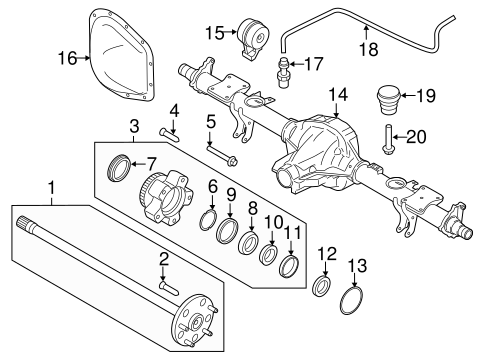 Mazda Cx 9 Differential Parts Diagrams