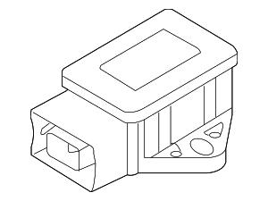 2008-2015 Ford Taurus Yaw Sensor 8G1Z-3C187-A