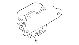 1987 Ford Bronco Engine Mount